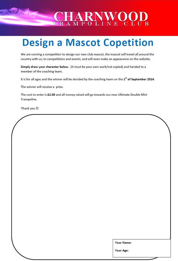 Design a Mascot